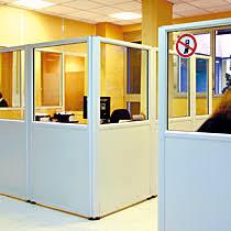 cloison amovible bureau tiaso cloison amovible aluminium bureau open space tertiaire