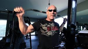 bill goldberg muscular development workout goldberg shows strength in meals on wheels sweepstakes youtube