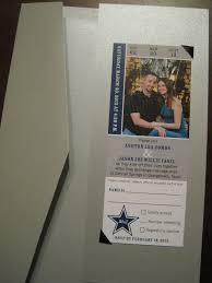 wedding invitations dallas cowboys ticket as wedding invitation graphic design wedding