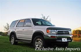1997 toyota 4runner timing belt 1997 used toyota 4runner 4dr auto at exclusive auto imports