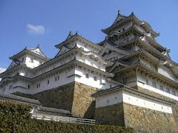 Himeji Castle Floor Plan Japanese Fortress Wall And Stone Blends Together Well