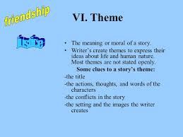 story themes about friendship eleven by sandra cisneros ppt video online download