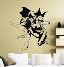 popular dorm wall decorations buy cheap dorm wall decorations lots batgirl wall decor sticker movie poster dc marvel comics superhero vinyl decal dorm club home interior
