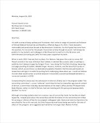 sample letter of resignation 8 examples in word pdf