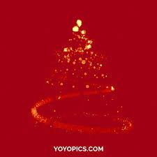 Animated Christmas Decorations Gif by Santa Wishing Merry Christmas Animated Gif Yoyo Pics