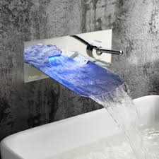 led bathroom faucet sink faucet led waterfall bathroom faucet