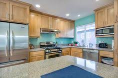 teal kitchen ideas all i would have to do to get this is paint my walls ceiling fans