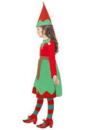 Elf Halloween Costumes Girls Santa U0027s Helper Costume