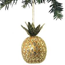 apple pineapple wreath ornament