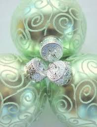 9ct purple mirrored glass disco ornaments 2 5 60mm