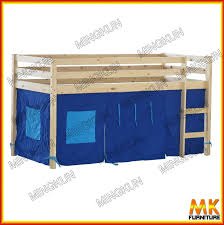 Children Play Pine Bed With Curtain Buy Loft BedKids Loft Bed - Jysk bunk bed
