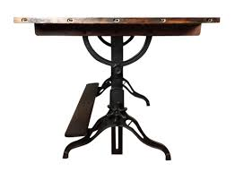 Large Drafting Table Large Vintage Cast Iron Wood Drafting Table Hartong International