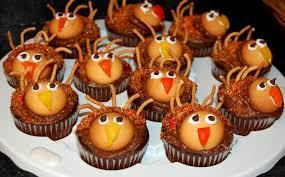craves thanksgiving turkey cupcakes