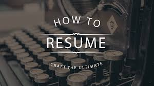 effective resumes tips 10 tips on how to craft a resume