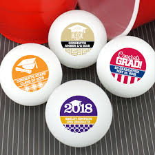personalized souvenirs graduation favors personalized ping pong balls