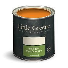 marigold 209 orange colour paint little greene