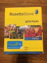 rosetta stone date rosetta stone polish level 1 learning software software and stone