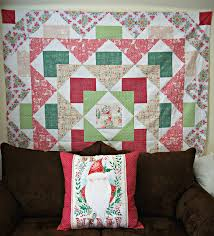 let blend fabrics help you craft a beautiful christmas quilt and