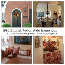 English Tudor Style by 1926 English Tudor Style Cottage Home Tour Debbiedoo U0027s