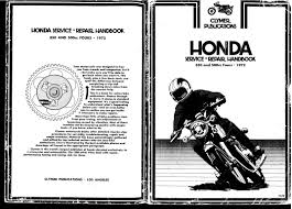 clymer honda cb350 u0026cb500 1972 fours workshop manual 4 stroke