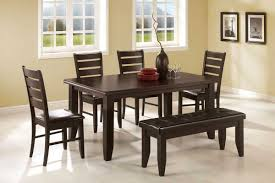 dining table chairs leather dining room dining table with leather