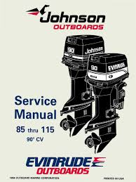 1995 johnson evinrude eo 90 cv 85 115 service manual 503150 pdf