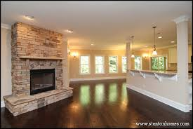 Cost Of Stone Fireplace by Woodburning Fireplaces For North Carolina Custom Homes