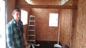 Sip Cabin Kits Tiny House Tour Seth Numrich U0027s Tiny House Of Sips Youtube