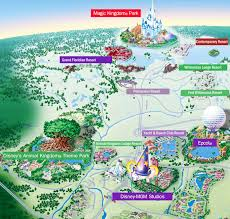 Disney Map Craig U0026 Kathy U0027s Disney World