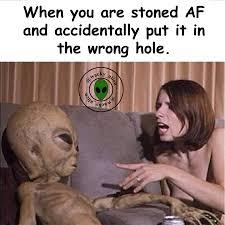 Stoned Alien Meme - haramkhor alien on twitter ohh shit i did it again didn t i