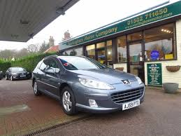 peugeot 407 estate second hand peugeot 407 2 0 hdi 140 sport 5dr for sale in beccles