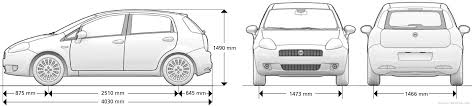 fiat punto 2007 the blueprints com blueprints u003e cars u003e fiat u003e fiat punto 2007