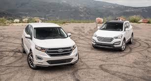 nissan murano vs ford edge benim otomobilim 2016 ford edge vs 2016 hyundai santa fe sport