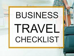 Ultimate business travel checklist