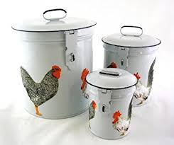 rooster canisters kitchen products country canister set kitchen storage