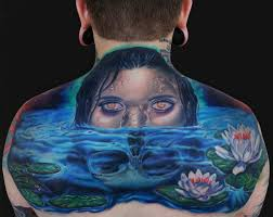 awesome dead water on back by