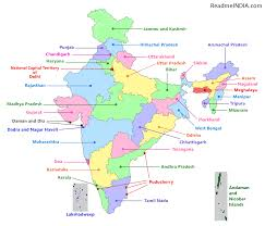 geography blog maps of india states and capitals of india