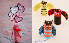 Ideas To Decorate For Valentine S Day by Valentine U0027s Day Crafts For Kids 17 Easy Toilet Paper Roll Ideas