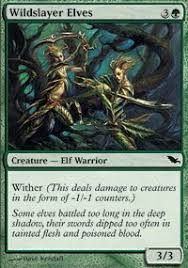 wildslayer elves shadowmoor magic the gathering