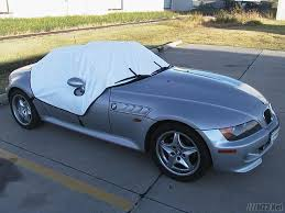 bmw z3 convertible top cover z roof cover with built in door ding protection mz3 for