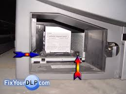 dlp tv light bulb replacement how to replace toshiba l enclosure for your dlp tv resource for