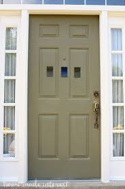 how to paint your house a simple fall house update how to paint an exterior door home