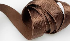 brown ribbon stretch satin stretch products papillon ribbon bow