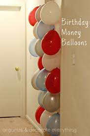 birthday money balloons a great idea for teenagers diy gifts