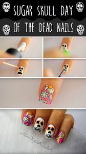 best 25 skull nail designs ideas on pinterest skull nails