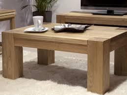 chunky oak coffee tables