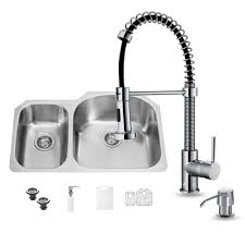 vigo all in one undermount stainless steel 31 in double basin