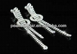 drag clip on earrings buy cheap ear cuff for big save 3 5 drag rhinestone dangle