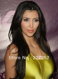 celebrity full lace wig glueless for african american kim