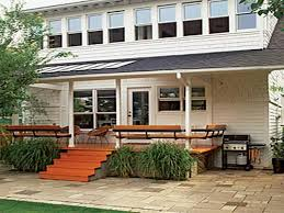 Rear Patio Designs Stunning Back Porch Design Ideas Images Rugoingmyway Us